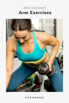 13 Best Dumbbell Exercises For Strong, Chiseled Arms When you want to isolate specific muscle groups in the arms, using dumbbells is truly effective — get ready to feel the burn! Depending on your strength, Best Dumbbell Exercises, Thigh Exercises, Dumbbell Workout, Fat Workout, Month Workout Challenge, Workout Schedule, Monthly Workouts, Workout Calendar, Good Arm Workouts