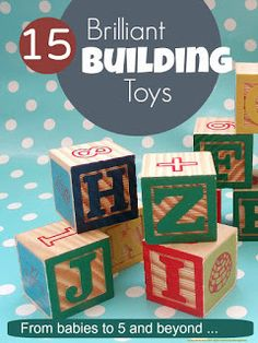 Seriously great building and construction toys that make brilliant Christmas gifts for all kids from babies to 5 and beyond ...