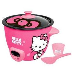 Just bought this hello kitty rice cooker! Cant wait to try it out!