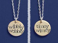 """Dr. Who """"Wibbly Wobbly Timey Wimey"""""""