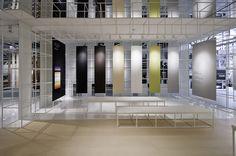 Ariostea booth at Cersaie 2012 by Marco Porpora, Bologna exhibit design