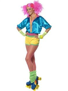 80's Skater Girl Costumes