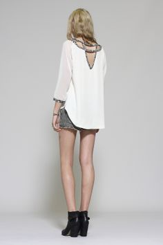 Gentle Fawn Valencia top (back)