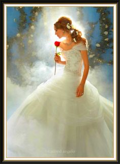Disney wedding dress collection..................I Love this dress. It's inspired by Disney Princess Belle