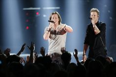 """Florida Georgia Line performs """"Round Here"""" at """"The Annual CMA Awards. Country Singers, Country Music, Brian Kelley, Tyler Hubbard, Cma Awards, Radio Personality, Florida Georgia Line, Faith Hill, Country Men"""
