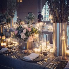 Lovely linens & setting with Party Rental Ltd. product of course!