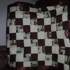 Check out this item in my Etsy shop https://www.etsy.com/listing/528622739/monkey-babytoddler-blanket