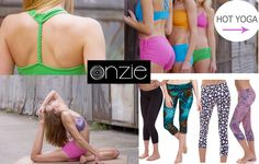 Onzie Yoga Apparel....available at Hot Yoga Bowling Green.  Drop by and check us out.  Remember...if we do not have it in stock -- we will call and get it for you!   BUY LOCAL!