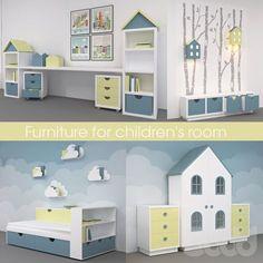 Furniture for children's room, мебель для детской