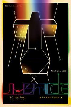 Justice / concert poster
