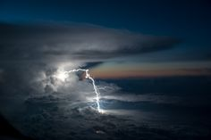 Incredible Photo Captures Lightning Ripping Through Clouds |   | Credit:A lightning bolt touches down near the border between Ecuador and Colombia.  | From WIRED.com