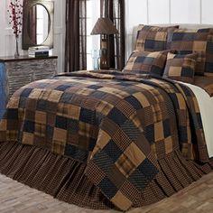 Patriotic Patch King Luxury Quilt