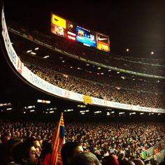 the camp nou, home fo FC Barcelona #campnou #stadium