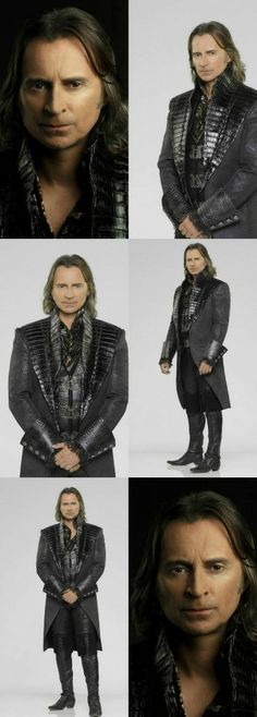 """ABC's """"Once Upon a Time"""" stars Robert Carlyle as Rumplestiltskin/Mr. Gold."""