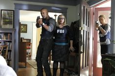 Still of Shemar Moore and Kirsten Vangsness in Criminal Minds