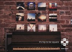 It's hip to be square. Your Instagram photos look better on Deepsquare prints.