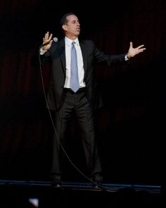 Jerry Seinfeld stands and delivers at BJCC Concert Hall in Birmingham. (Full story at AL.com)