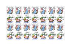 Tiny little Kawaii planner stickers! Our Change Bed Sheets sticker sheet has 28 little stickers, each measuring just under an inch.  Sheet size: 8.5x