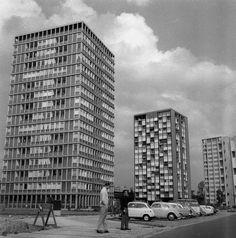 Hansaviertel, 1958. Ein neuer Stadtteil entsteht. Foto: Imago