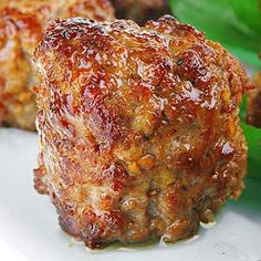 Baked meatballs. This Recipe is appropriate for ALL 4 Phases of the Atkins Diet.