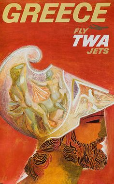 Fly TWA Jets to Greece (David Klein, 1960)