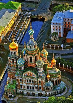 Church of the Resurrection. (Church of the Savior on Spilled Blood) St Petersburg, Russia.