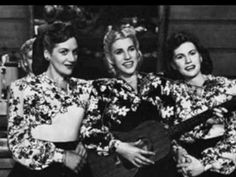 The Andrews Sisters - Rum and Coca Cola. One of the most famous Andrews Sisters songs ever heard.
