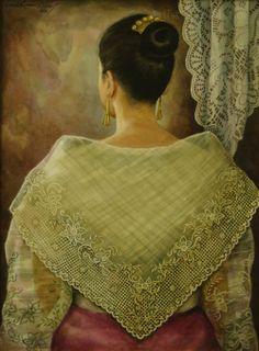 By Araceli Limcaco Dans Philippines Outfit, Miss Philippines, Philippines Fashion, Philippines Culture, Philippine Mythology, Philippine Art, Filipino Art, Filipino Culture, Filipino House
