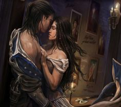 Elide e Lorcan