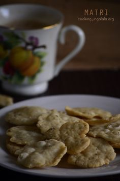Mattri Recipe | Snack Recipes for Diwali Recipe with Step by Step photographed images