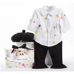 Baby Artist Layette Set Love this for a Halloween costume. #Halloween #Artist