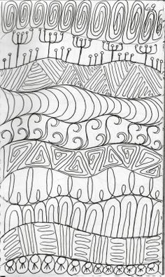 Zentangle - fillers
