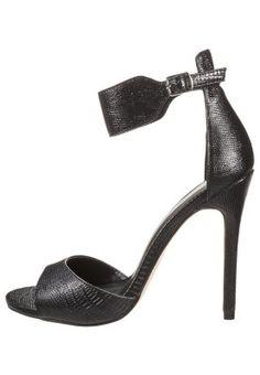 Romeinse sandalen New Look TABLET - Sandalen met hoge hak - black Zwart: 29,95 € Bij Zalando (op 13/05/15). Gratis verzending & retournering, geen minimum bestelwaarde en 100 dagen retourrecht!