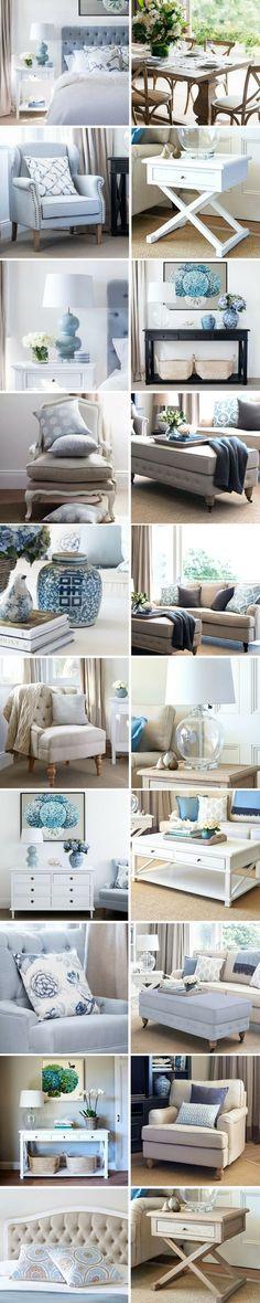 60 Interior Doors Ideas You'll Love - beach house decor Hamptons Style Bedrooms, Hamptons Living Room, Hamptons Style Decor, My Living Room, The Hamptons, Ideas Para Organizar, Reno, Interior Exterior, Beach House Decor