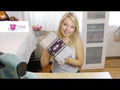 SnapPap Clutch nähen - DIY Eule - YouTube
