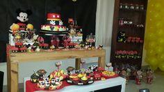 Birthday Mickey mouse Birthday Cake, Birthday Parties, Mickey Mouse Birthday, Party, Desserts, Food, Anniversary Parties, Birthday Cakes, Meal