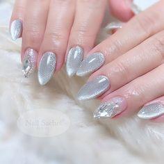 Fancy Nails Designs, Nail Art Designs, Sun Nails, Cute Nails For Fall, Star Nail Art, Nagellack Design, Cat Eye Nails, Nails First, Elegant Nails