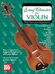 Easy Classics for Violin - With Piano Accompaniment Sheet Music   Sheet Music Plus