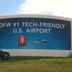 DFW Airport is tech friendly