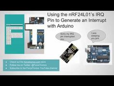 In this instructable we look at how to use the pulse signal from an nRF24L01+ transceiver module's IRQ pin to trigger an interrupt in Arduino. You can find the code...