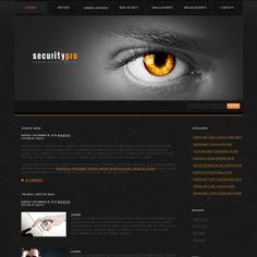 Security  PSD Theme