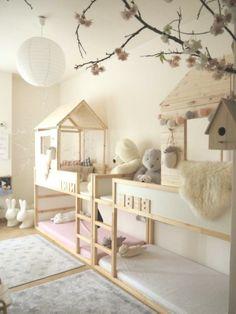 Ikea kura hacks, bedroom ideas в 2019 г. Kura Bed Hack, Ikea Kura Hack, Ikea Kura Bed, Ikea Hacks, Baby Bedroom, Girls Bedroom, Best Ikea, Creation Deco, Girl Room