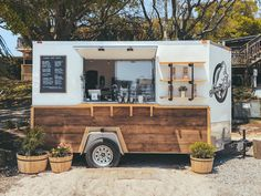 food truck JumpinGoat Coffee is the cutest little locally owned coffee trailer, parked on the Destin Harbor near Dewey Destins Seafood. See more of our favorite Destin Florida coffee shops on our website! My Coffee Shop, Coffee Shop Design, Cafe Design, Coffee Shops, The Coffee, Coffee Zone, Coffee Cup, Design Design, Coffee Maker