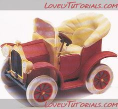 Vintage Car Tutorial w/ templates