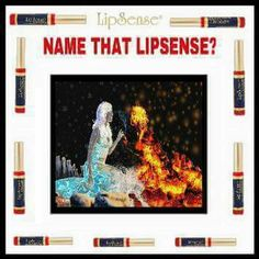 Fire n  Ice Lipsense Game, Senegence Makeup, Senegence Products, Fire N Ice, Peach Baby Shower, Interactive Posts, Facebook Party, Team Building Activities, Bingo Cards
