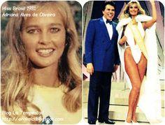 Adriana Alves de Oliveira Miss Brasil 1981