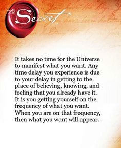 i am on the frequency for manifesting all that i desire!