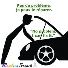 An easy and useful #French expression to remember, pas de problème can be pronounced two different ways. Listen closely to the following sound file to hear both alternatives. #learnfrench #lawlessfrench #frenchteacher French Expressions, Idiomatic Expressions, French People, Teacher Boards, French Teacher, French Language, Learn French, Vocabulary, Culture