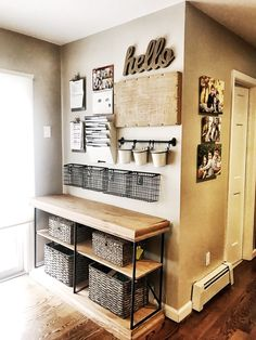 Organization Station: The Makings of Command Center Walls — The Decor Formula<br> Family Command Center, Command Center Kitchen, Family Message Center, Organization Station, Family Organization Wall, House Organization Ideas, Home Organization Wall, Small Space Organization, Staying Organized