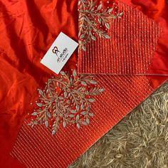 Hand Work Blouse Design, Simple Blouse Designs, Blouse Back Neck Designs, Stylish Blouse Design, Designer Blouse Patterns, Fancy Blouse Designs, Gold Designs, Maggam Work Designs, Hand Embroidery Designs